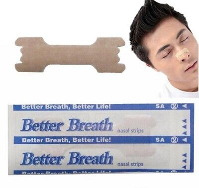 GENUINE 5-1000 NASAL STRIPS (SMALL/MED) Breathe Better Reduce Snoring Right Now