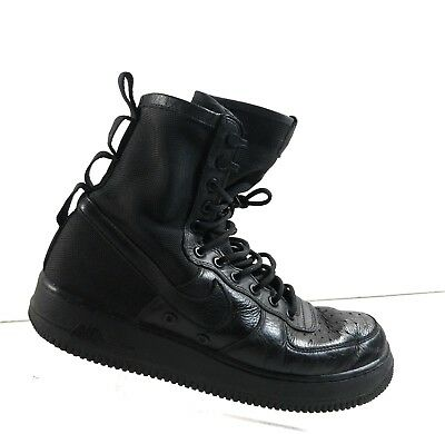9dbcb7cd33d Nike SF AF1 Special Forces Field Air Force One 1 Triple Black 864024-003 Sz