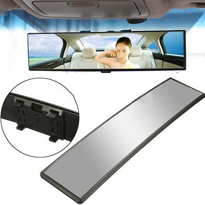 Car Interior 300mm Rear View Mirror Wide-angle Convex Big Vision Curved Mirror