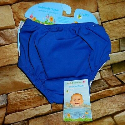 Toddlers ~ i play ~  SWIMSUIT DIAPER ~ BLUE ~ 4T ~ Fast Free Shipping