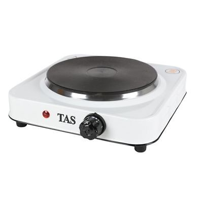 Tas Single Cooking Plate 1500W Stainless Steel Electric Stove Cooker Hob