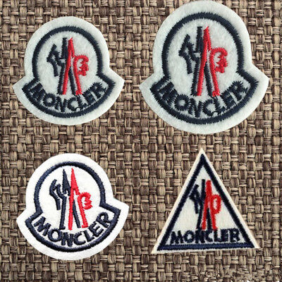 Embroidered Moncler Sport Sew Iron On Cloth Patches Badge Hat Fabric Applique
