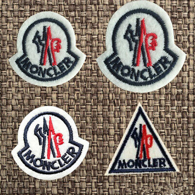 Embroidered Moncler Sport Sew Iron On Patches Badge Bag Hat Fabric Applique