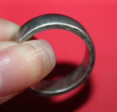 Celtic silver wedding ring - beautiful piece 9.62 gr