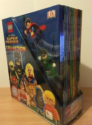 BNS LEGO DC Comics Super Heroes Collection 10 Books with Electro Suit Batman