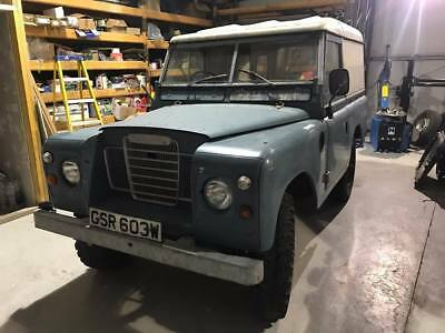 """Land Rover Series 3 88"""" 2.25 Petrol New Chassis"""