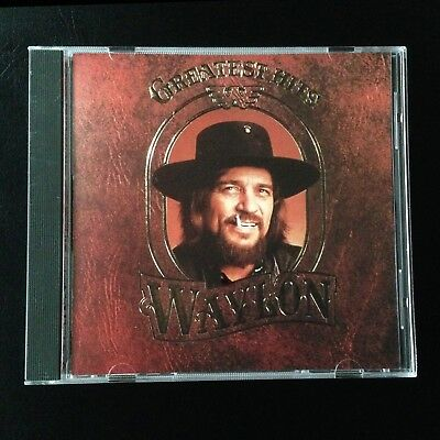 Greatest Hits, Waylon Jennings ♫ CD 1990 Hearted Woman, Lukenbach Texas, WILLIE