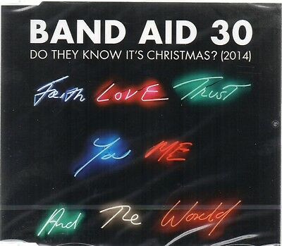 Band Aid 30 - Do They Know It's Christmas? (CD Single 2014) New
