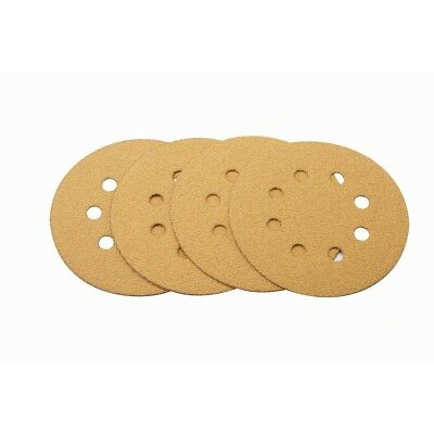 5 inch Sanding Discs 60 Grit Dustless Sander Orbital Paper Sheets Hook and Loop