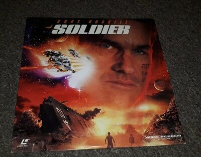 SOLDIER AC3 RARE LATE, 1998 NTSC bundle joblot deal Laserdisc, 16958 Laser Disc.