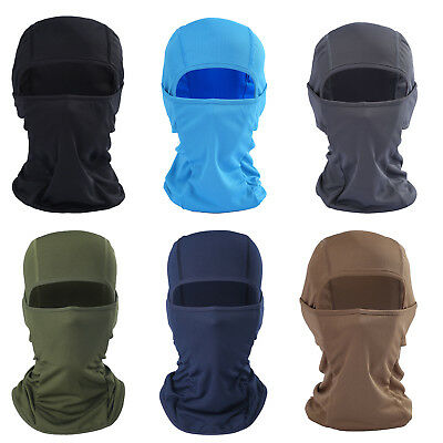 Motorcycle Cycling Balaclava Full Face Mask Winter Ski Neck Warmer Under Helmet