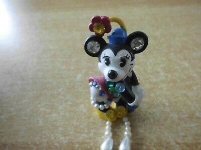 Bully Walt Disney Minnie Mouse Strass Brosche