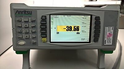Anritsu // ML2488B / Wideband Peak Power Meter / Dual Channel