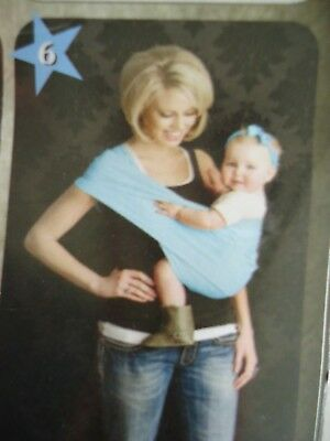 Infant Baby Sling Carrier Ring Wrap  NEW