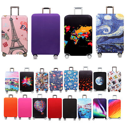 "Elastic Travel Luggage Suitcase Dust Cover Protector Anti Scratch Cover 18""-32"""