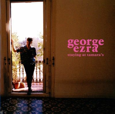 2018 George Ezra Staying At Tamaras Explicit Track CD Album Music New Free P&P