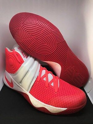 c7978c595001 Nike iD Kyrie 2 Men s Basketball Shoes Hyper Fuse Pink Red White Size 12