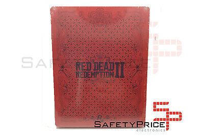 Red Dead Redemption 2 STEELBOOK Rare Raro Nuevo New PS4 XBOX ONE