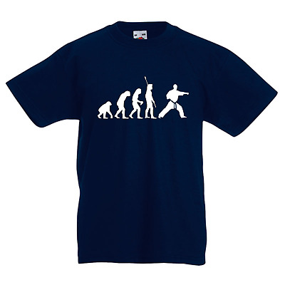 Evolution des Karate - Fun Shirt - Karate Fun Shirt
