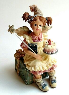 1999 Boyds Bears The Wee Folkstone Collection Mary Angelwish