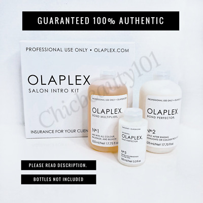 OLAPLEX No.1, No.2 & No.3 One Time use KIT w/ Instructions and Dosing Dispenser.