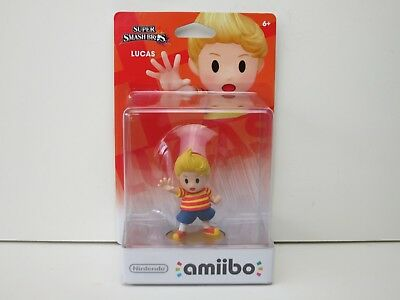 NINTENDO~AMIIBO~LUCAS~SUPER~SMASH~BROS~US~VERSION~WII~U~3DS~FIGURE~EARTHBOUND~2~