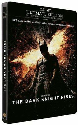 Batman The Dark Knight Rises [boîtier SteelBook] | BLU-RAY (neuf)