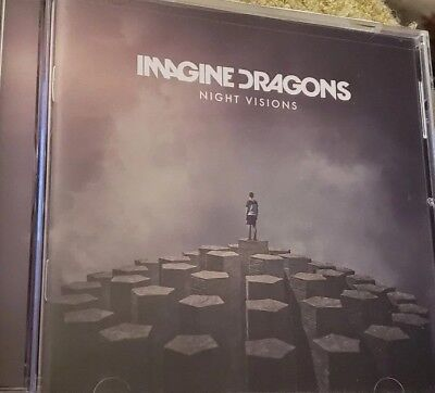 Night Visions [Deluxe] by Imagine Dragons (CD, 2013) PLAYED ONCE FREE SHIPPING