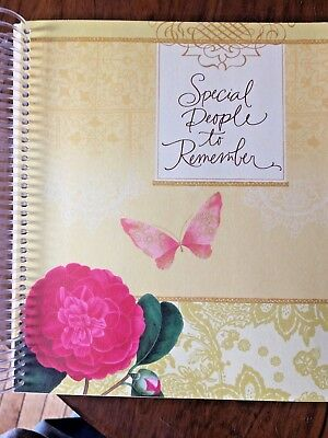 Special People To Remember~GREETING CARD ORGANIZER BOOK  By Hallmark Brand New