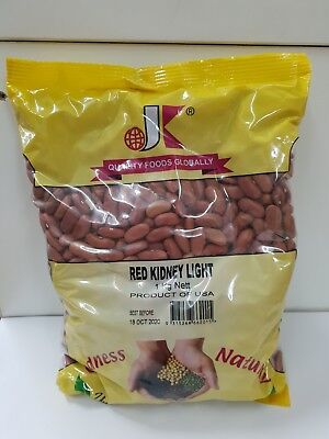 Red Kidney Beans By Jk International (1Kg) - Dried Red Kidney Beans