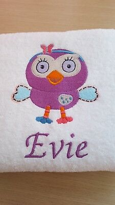 Personalised Embroidered Face washer