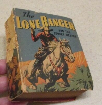 THE LONE RANGER AND THE SECRET WEAPON 1943 Better Little Book BLB 1428 FN