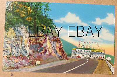 ST33- Bedford PA postcard - SS Grand View Ship Hotel  1950s