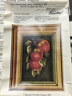 Dimensional Glass Painting Kit by Priscilla Hauser Decorative Painting Folk Art
