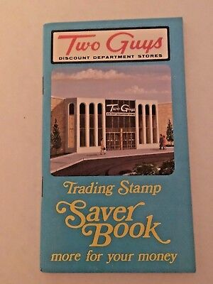Two Guys Discount Dept. Store Trading Stamp Book