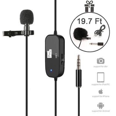 Mini Lavalier Lapel Microphone Professional Clip On Collar Mic Discreet Portable