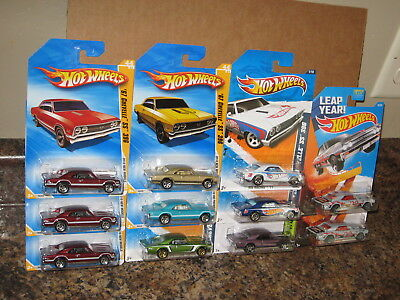 Hot Wheels Lot of 11 1967 Chevrolet Chevelle SS 396 '67 Leap Year