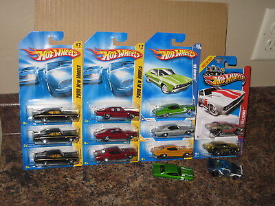 Hot Wheels Lot of 13 1969 Chevrolet Chevelle SS 396 Variation X Raycers '69