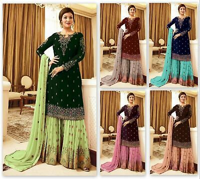 Designer Salwar Kameez Suit Indian Pakistani Bollywood Dress Anarkali Kameez KR