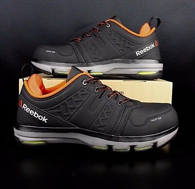 7fd060022077d2 REEBOK RB3602 DMX Flex Lace Up Alloy Safety Toe Non-Slip EH Rated ...