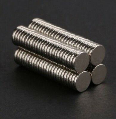10 Small Magnets 5x1 mm Neodymium Disc strong round craft magnet 5mm dia x 1mm