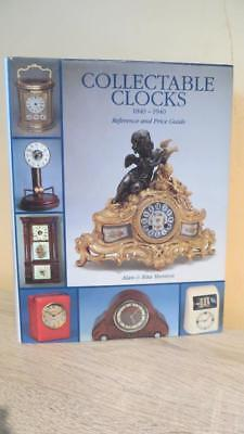 """1996 """"collectable Clocks - 1840-1940""""  - Horology/clock Interest- Scarce"""