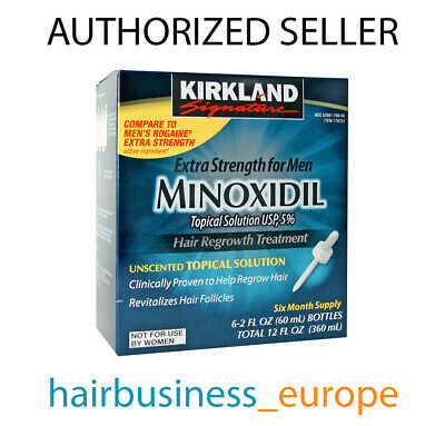 Kirkland Minoxidil 5% Lotion 1-12 Month Supply Hair Regrowth Treatment