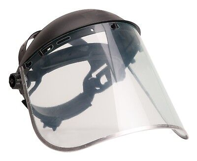 Portwest Face Shield Plus Bodyguard Safety Visor Aluminium Work Protection PW96