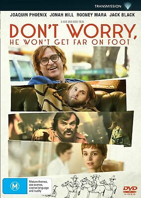 Dont Worry He Wont Get Far On Foot DVD Region 4 NEW // PRE-ORDER for 23/01/2019