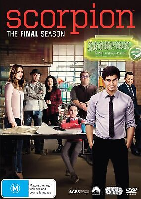 Scorpion Season Four Box Set DVD Region 4 NEW