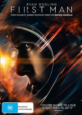 First Man DVD Region 4 NEW // PRE-ORDER for 23/01/2019