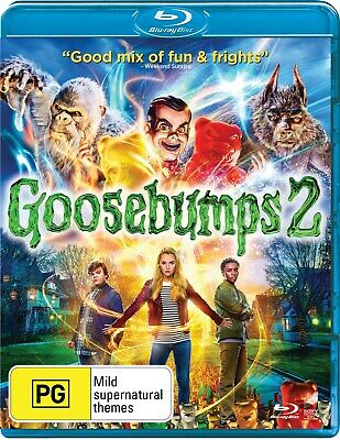 Goosebumps 2 with Digital Download Blu-ray Region B NEW