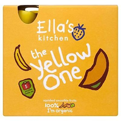 Ellas Kitchen Smoothie Fruit The Yellow One Multipack 5 x 90g (Pack of 6)