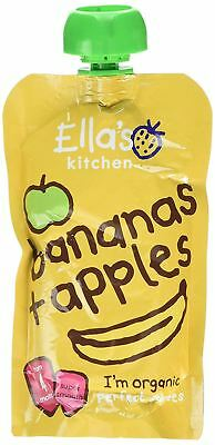 Ellas Kitchen Stage 1 Apples & Bananas 120g (Pack of 7)